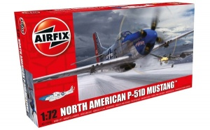 Airfix A010004A NORTH AMERICAN P-51D  MUSTANG