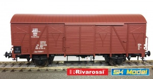 Rivarossi HRS6436 Wagon kryty 223K/1 serii Ggs Kddet PKP OPW Ep.IVa