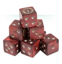 Citadel 05-11 kostki MORDOR DICE SET Lord Of The Rings MIDDLE-EARTH