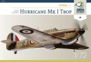 ARMA HOBBY 70021 Hurricane MK1 Dywizjon TROP  -  Model Kit