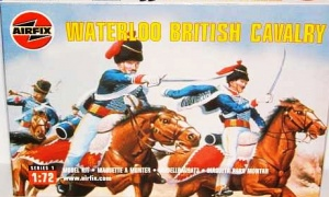 Airfix 01743 WATERLOO  BRITISH CAVALRY