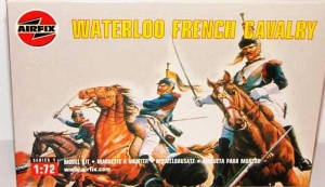 Airfix 01736 WATERLOO  FRENCH CAVALRY