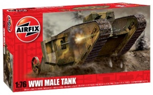 Airfix A01315 WWI MALE TANK